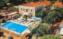 Grecian Castle Chios stad